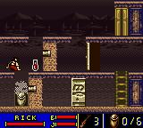 The Mummy Game Boy Color Chapter 10-02. Hamunaptra / Night at the Ruins.