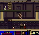 The Mummy Game Boy Color Chapter 11-02. Hotel in Cairo.
