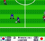 International Superstar Soccer 99 Game Boy Color Loss time. NakaISI in action.