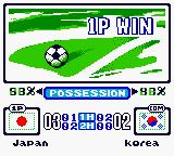International Superstar Soccer 99 Game Boy Color End of the match. At least there's info about the possession.