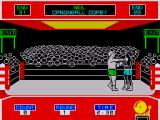 Star Rank Boxing ZX Spectrum Working on the head seems to knock them down quicker