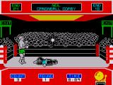 Star Rank Boxing ZX Spectrum Knocking an opponent down does'nt mean you've won as they can still get up before the count of ten