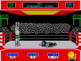 Star Rank Boxing ZX Spectrum You win the fight by a knockout
