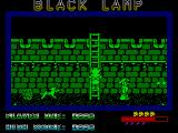 Black Lamp ZX Spectrum Ladders can be used to move between upper and lower levels