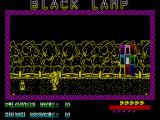 Black Lamp ZX Spectrum You can pick up the lamp to the left of the screen