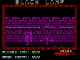 Black Lamp ZX Spectrum Pressing up will move the character through the door