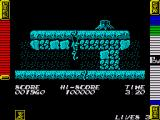 Athena ZX Spectrum Using the vines enables you to climb up to the platform