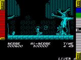 Athena ZX Spectrum There are many different enemies to attack including a fireball