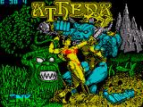 Athena ZX Spectrum Loading Screen