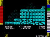 Athena ZX Spectrum The beetle scurries around quite fast so you need to jump at the right moment