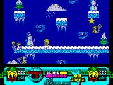 Edd the Duck! ZX Spectrum Weather Department - it's possible to freeze enemies for limited time
