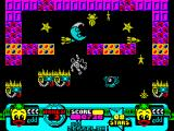 Edd the Duck! ZX Spectrum Special Effects Department - every touch with opponent cost 1 life