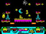 Edd the Duck! ZX Spectrum Special Effects Department - this game is mostly about jumping...