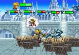 Guardian Heroes SEGA Saturn You can give commands to the Undead warrior