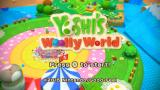 Yoshi's Woolly World Wii U Title screen