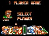 Body Blows Galactic Amiga Character screen selection. In opposite to the first installment, this time the player can choose any fighter.