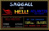 Snoball in Hell Amstrad CPC Title screen