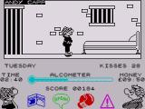 Andy Capp ZX Spectrum When you get arrested you are put in prison and this can knock hours of the time and also lower your alcometer