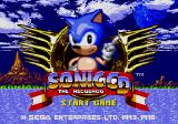 Sonic CD Windows Title screen