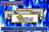 Final Fantasy I & II: Dawn of Souls Game Boy Advance Let's check the bestiary