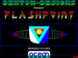 Flashpoint ZX Spectrum Title screen