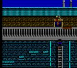 Hudson Hawk NES A person about to throw a plant out the window