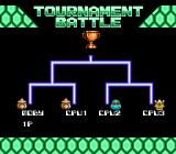 Teenage Mutant Ninja Turtles: Tournament Fighters NES The Torunament Battle
