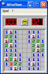 Microsoft Windows XP (included games) Windows Minesweeper: Level completed - Beginner Level