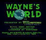 Wayne's World SNES Title screen