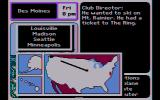 Where in the U.S.A. Is Carmen Sandiego? DOS Traveling across the USA! (CGA Composite mode)