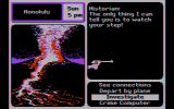 Where in the U.S.A. Is Carmen Sandiego? DOS Someone is trying to knock me off! (CGA Composite mode)