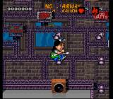 Wayne's World SNES In game