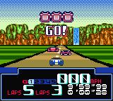 Jeff Gordon XS Racing Game Boy Color Round 3. Drop zone. 5.7 mile. Go!