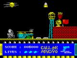 Call Me Psycho ZX Spectrum Mission 3: Starting screen.