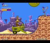 Road Runner's Death Valley Rally SNES Before...