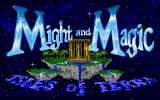 Might and Magic III: Isles of Terra FM Towns Title screen