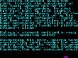 Behind Closed Doors 2: The Sequel ZX Spectrum The first couple of screens tell the back story a paragraph at a time