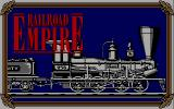 Railroad Empire DOS Title screen (the native resolution for this and all following screenshots is 640x200).