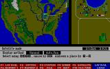 Railroad Empire DOS The satellite view helps keep an eye on your train lines and is essential for planning routes.