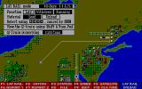 Railroad Empire DOS The actual game screen. Lay tracks with the A-Train for other trains to follow on.