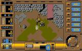 Illusion City: Gen'ei Toshi FM Towns Enemies are visible on the screen and can be avoided