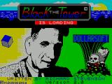 The Black Tower ZX Spectrum The title screen<br>This is displayed for an incredibly short time