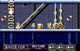 Sink or Swim Amiga Level 2 is in a different part of the ship. It is freezing down here!