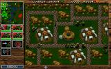 WarCraft: Orcs & Humans DOS Sprawling orc metropolis