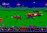 ToeJam & Earl in Panic on Funkotron Genesis This flying duck can cause some trouble