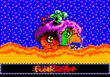 ToeJam & Earl in Panic on Funkotron Genesis Using funk scan to search for hidden items (none on this screen)