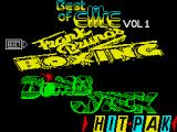 Best of Elite: Vol. 1 ZX Spectrum Menu Screen: Side A