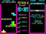 Tetris 2 ZX Spectrum Round 76 - another big quota of 1-lines to fulfill