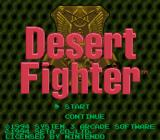 A.S.P.: Air Strike Patrol SNES Desert Fighter title screen.