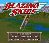Wings 2: Aces High SNES Blazing Skies (EU).